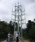 福建分公司试点9米增高架获成功
