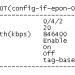 设置PON口报文tag切换方式